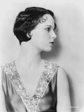 Louise Brooks Looking Away in Elegant Dress Classic Portrait Photo by  Movie Star News