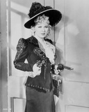 Mae West Holding Tow Pistols in Black and White Dress Photo by  Movie Star News