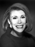 Joan Rivers Showing a Big Smile with Earrings in a Classic Portrait Photo by  Movie Star News