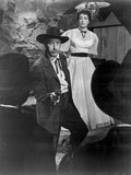 Johnny Guitar Man Pointing a Gun in Black Suit with Woman in White Dress Photo by  Movie Star News