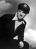 Karl Malden Posed in Black Suit With Black and White Background Photo by  Movie Star News