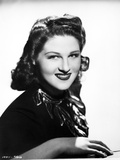 Jo Stafford Showing a Cute Smile in a Classic Portrait Photo by  Movie Star News