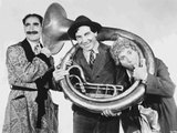 Marx Brothers Posed in Classic Portrait Playing Musical Instruments Photo by  Movie Star News