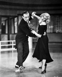 Fred Astaire and Ginger Rogers Portrait Taken from Swing Time Film Photo by  Movie Star News