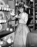 Hayley Mills wearing a Dress and Pouring a Tea in a Cup Photo by  Movie Star News