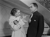 Al Jolson Talking with the Woman in White in a Classic Movie Scene Photo by  Movie Star News