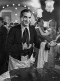 Al Jolson Playing His Role as A Waiter in a Classic Movie Scene Photo by  Movie Star News