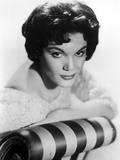 Connie Francis Leaning on Couch, wearing Formal Dress Photo by  Movie Star News