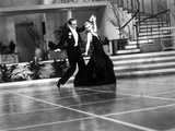 Fred Astaire and Ginger Rogers in Suit and Black Dress, Dancing Photo by  Movie Star News