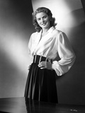 Ingrid Bergman wearing a Long Sleeve Blouse with Hands on Waist Photo by E Bachrach