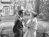 Suddenly Last Summer Couple Scene Excerpt from Film in Black and White Photo by  Movie Star News