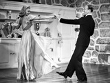 Fred Astaire and Ginger Rogers Dancing in Wooden Floor Photo by  Movie Star News