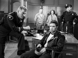 Marlon Brando Movie Scene with Man Interrogated by a Police Officer Photo by  Movie Star News