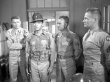 From Here To Eternity Four Policemen standing in Khaki Photo by  Movie Star News
