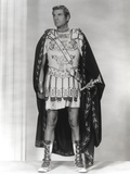 Laurence Olivier Posed in Gladiator Outfit Black and White Photo by  Movie Star News