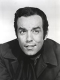 Bonanza Looking Up in Black Suit Portrait with White Background Photographie par  Movie Star News