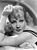 Ann Sothern Looking and Facing at the Camera, wearing a Beaded Bracelet Photo by  Movie Star News