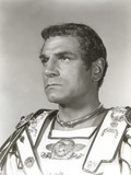 Laurence Olivier Gladiator Outfit Black and White Close Up Portrait Photo by  Movie Star News