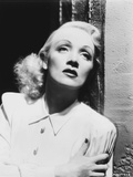 Marlene Dietrich Leaning on Wall, wearing White Neat Blouse Photo by  Movie Star News