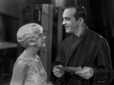 Al Jolson Talking to the Girl in White in a Classic Movie Scene Photo by  Movie Star News
