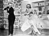 Fred Astaire and Ginger Rogers Ballroom Dancing and smiling Photo by  Movie Star News