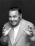 Jonathan Winters Posed in White Suit With Black Background Photo by  Movie Star News