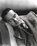 Bob Hope Sleeping on Couch wearing Formal Suit Portrait Photo by  Movie Star News