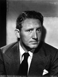 Spencer Tracy Cast Member Posed in Black and White Portrait wearing Tuxedo Photo by  Movie Star News