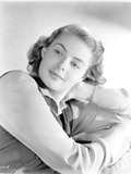 Ingrid Bergman in a Long Sleeve Blouse with a Black Vest Photo by  Movie Star News
