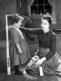 Colleen Moore on Long Sleeve Top Talking to Kid Portrait Photo by  Movie Star News