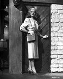 Lizabeth Scott Posed in Classic with Heels and Shoulder Bag Photo by  Movie Star News