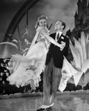 Fred Astaire and Ginger Rogers Dancing in Formal Attire Photo by  Movie Star News