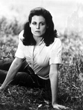 Sigourney Weaver Lying on the Ground in a Classic Portrait Photo by  Movie Star News