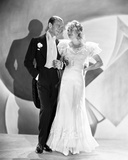 Fred Astaire and Ginger Rogers Dancing on Stage Looking at Each Other Photo by  Movie Star News