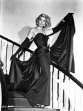 Dorothy Malone on a Tube Dress with Evening Gloves Photo by  Movie Star News