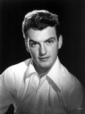 William Campbell Posed in White Suit With Black Background Photo by  Movie Star News