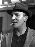 Telly Savalas Posed in Formal Attire With Cigarette Photo by  Movie Star News