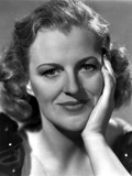 Gracie Fields on Puff-Sleeve on Top with Hand on Face Photo by  Movie Star News