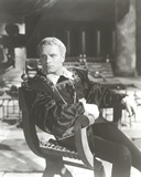 Laurence Olivier in Black Jacket Black and White Portrait Photo by  Movie Star News