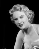 Virginia Mayo smiling in Dress with Black Background Photo by  Movie Star News