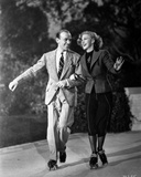 Fred Astaire and Ginger Rogers Running in Suit and Blazer Photo by  Movie Star News