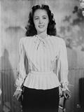 Elizabeth Taylor Posed Stripe Blouse Classic Portrait Photo by Bert Six