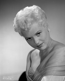 Judy Holliday on a V-Neck Top With Head Down Portrait Photo by  Movie Star News