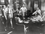 Twelve Angry Men Movie Scene in a Room with Men Arguing Photo by  Movie Star News