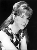 Julie Harris Leaning in White Fit Jacket Portrait Photo by  Movie Star News