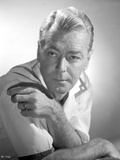 Alan Ladd Making a Cross Arms Pose in Close Up Portrait Photo by  Movie Star News