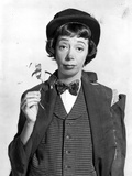 Imogene Coca Wearitng a Checkered Vest with Bowtie Photo by  Movie Star News