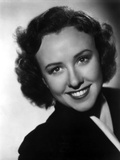 Margaret Lindsey in Black Close Up Portrait with a Smile Photo by  Movie Star News