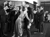 Colleen Moore Leaning on Chest of a Man with Crowd Photo by  Movie Star News