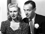 Fred Astaire and Ginger Rogers Head Shot Portrait Photo by  Movie Star News